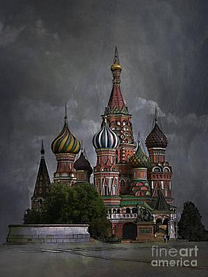 Moscow... Print by Andrzej Szczerski