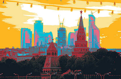 Moscow Mixed Media - Moscow  by Shay Culligan