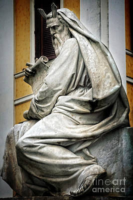 Moses By Jacometti Print by HD Connelly