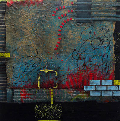 Brick Mixed Media - Most Extensive  by Laura Lein-Svencner