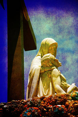 Inri Photograph - Mother And Son by Susanne Van Hulst