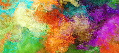 Large Painting - Mother Earth - Abstract Art by Jaison Cianelli