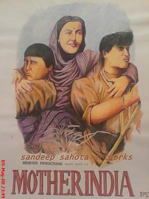Catherine Jackson Painting - Mother India by Sandeep Kumar Sahota