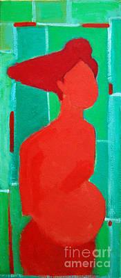 Motherhood Print by Ana Maria Edulescu