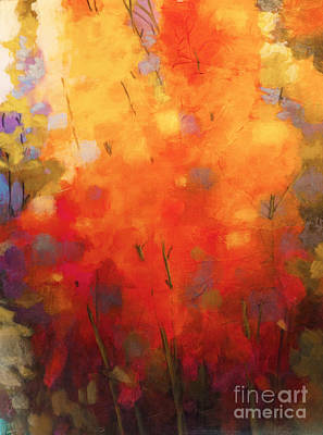 Painting - Mother's Garden 2 by Melody Cleary