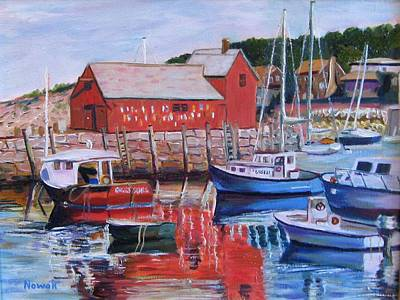 Motif Number One Original by Richard Nowak