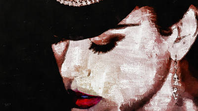 Education Painting - Moulin Rouge - Nicole Kidman by Sir Josef Social Critic - ART