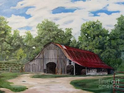 Barn Photograph - Moulton Barn by Faye Creel