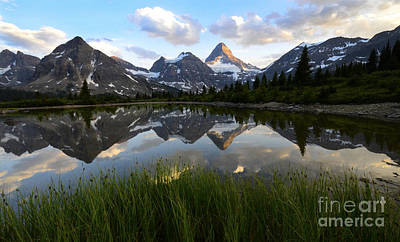 Canadian Landscape Photograph - Mount Assiniboine Canada 10 by Bob Christopher