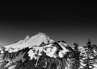 Mount Baker In Washington Print by Brendan Reals