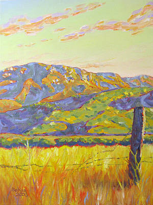 Malibu Painting - Mount Boney by Patrick Parker
