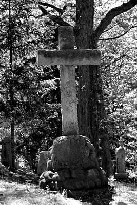 Mount Hope Cross Print by Richard Jenkins