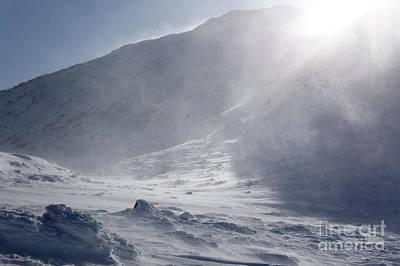 Mount John Quincy Adams - White Mountains Nh Print by Erin Paul Donovan