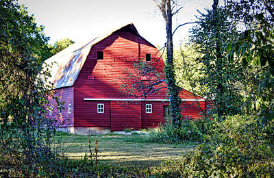Photograph - Mount Pleasant Road Barn by Cricket Hackmann
