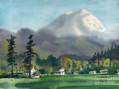 Mount Rainier Print by Donald Maier