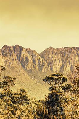 Mount Read In Western Tasmania Print by Jorgo Photography - Wall Art Gallery