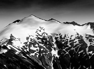 Peaks Photograph - Mount Ruth In The Washington Cascade Mountains by Brendan Reals