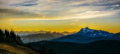 Mountain View Photograph - Mount Shuksan Sunrise 2 by Pelo Blanco Photo