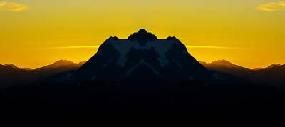 Mountain View Photograph - Mount Shuksan Sunrise Reflection by Pelo Blanco Photo