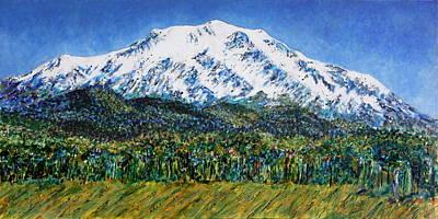 Mount Sopris - Colorado Print by Kathie Nichols