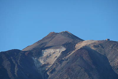 Photograph - Mount Teide by George Leask
