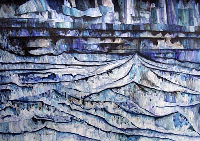 Mountain Chain Print by Alexander Chachanidze