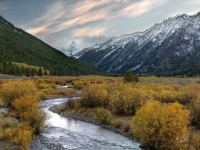 Pioneer Photograph - Mountain Grandeur by Leland D Howard