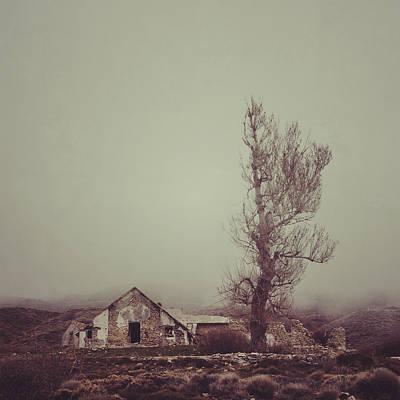 Mountain House Print by Guido Montanes Castillo