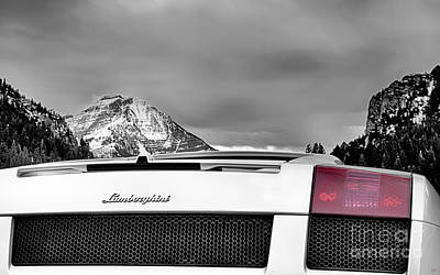 Mountain Photograph - Mountain Lamborghini by David Millenheft