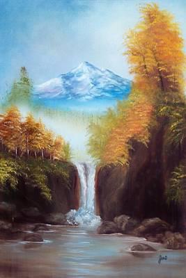Mountain Majesty Print by Joni McPherson