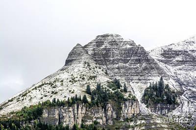 Photograph - Mountain Range Snow Covered by Bernard Jaubert