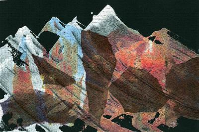 Mountain Rhythms Print by Anne Rickard