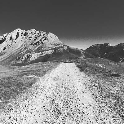 Photograph - Mountain Road by Contemporary Art