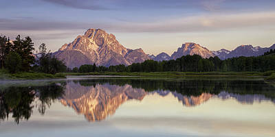 Morning Photograph - Mountain Stillness by Andrew Soundarajan