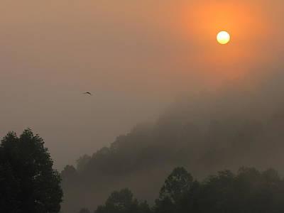 Mountain Sunrise 2 Print by Shane Brumfield