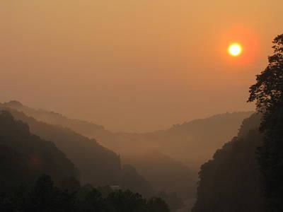 Mountain Sunrise 3 Print by Shane Brumfield