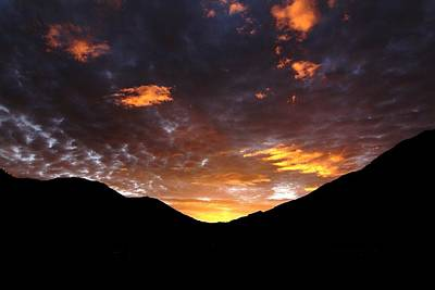 Photograph - Mountain Sunrise by Crystal Magee