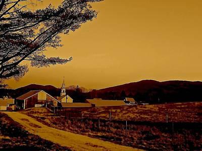 Mountain Photograph - Mountain Village by Elizabeth Tillar