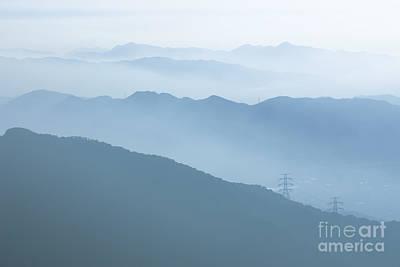 Mountains Original by Kam Chuen Dung