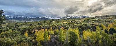 San Juan Mountain Range Photograph - Mountains Of Ridgeway by Jon Glaser