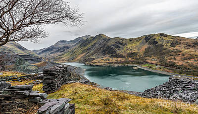 Llanberis Photograph - Mountains Of Snowdonia by Adrian Evans