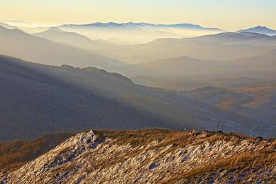 Bieszczady Photograph - Mountains by Rafal Jablonski