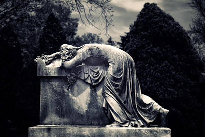 Old Stone Photograph - Mournful by Jessica Jenney