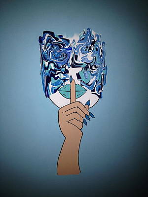 Move In Silence Blues Original by Sarah Torreblanca