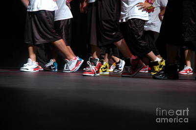 Csu Photograph - Move Your Feet Part 2 by Rebecca Knoblauch