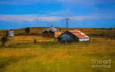 Moved To Town Print by Jon Burch Photography