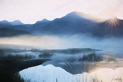 Jordan Painting - Moving Forward - Inspirational Art by Jordan Blackstone