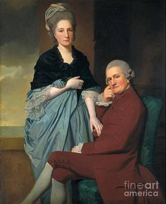 Romney Painting - Mr And Mrs William Lindow Tate Britain by George Romney