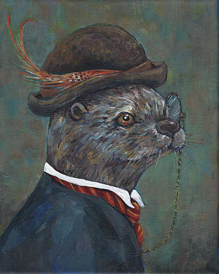 Mr. Otter Original by Peggy Wilson