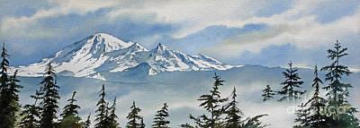 Mt. Baker Mist Print by James Williamson